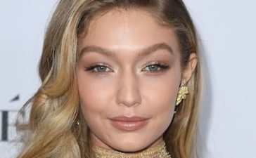 Model Gigi Hadid attends Glamour's 2017 Women of The Year Awards at Kings Theatre on November 13, 2017 in Brooklyn, New York. / AFP PHOTO / ANGELA WEISS (Photo credit should read ANGELA WEISS/AFP/Getty Images)