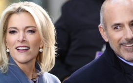 NEW YORK - NOV 17, 2017: Megyn Kelly and Matt Lauer appear NBC Today Show on November 17, 2017, in New York City. Shutterstock/ JStone