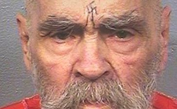 "Charles Manson, the cult leader who sent followers known as the ""Manson Family"" out to commit gruesome murders, currently being held at California State Prison, Corcoran, California, U.S. is seen in this August 2017 photo released on November 16, 2017. (Photo: Courtesy California Department of Corrections and Rehabilitation/Handout via REUTERS)"