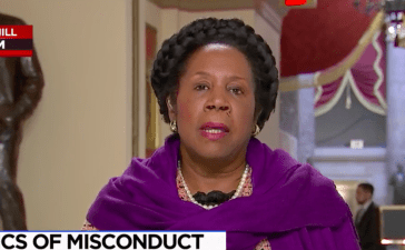 Screen Shot Sheila Jackson Lee (MSNBC: Nov 30, 2017)