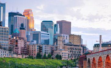 Minneapolis skyline (Photo via Shutterstock)