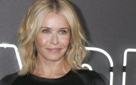 "LOS ANGELES - JUL 24: Chelsea Handler at the ""Atomic Blonde"" Los Angeles Premiere at The Theatre at Ace Hotel on July 24, 2017 in Los Angeles, Calif. (Photo: Shutterstock/ Kathy Hutchins)"