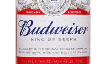 Budweiser (Credit: Shutterstock)