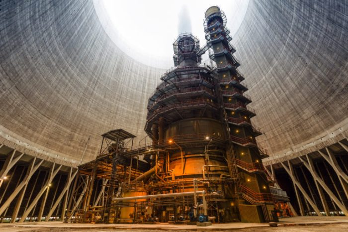 Thermal Nuclear Plant. Shutterstock