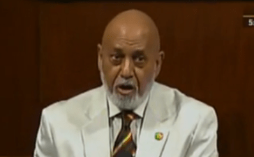 Florida Rep. Alcee Hastings has one of the most unusual names in this entire slideshow. (Screen shot)