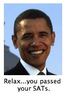 Obama - drop the intimidating vocabulary