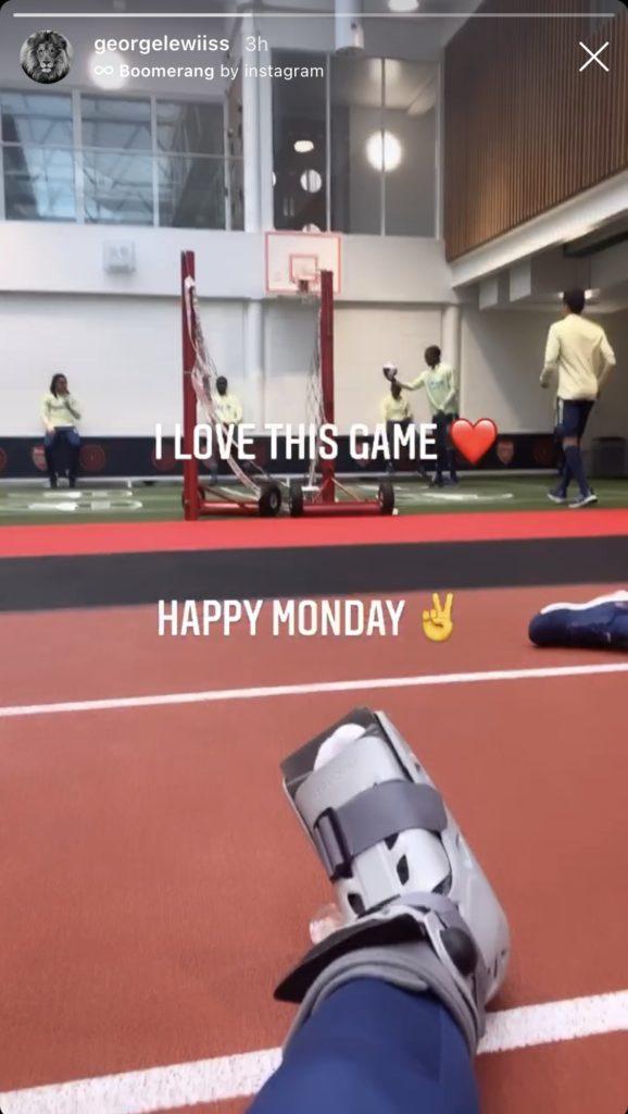 George Lewis on Instagram