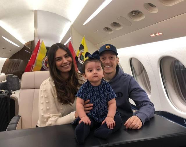 Mesut Ozil and family via Mesut Ozil Twitter