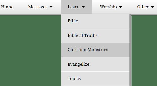 ministries_menu