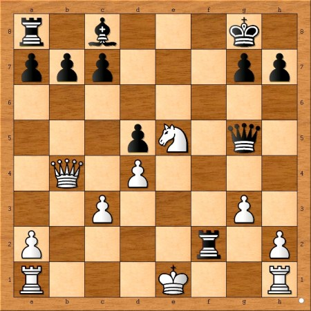 Position after 15.... Rxf2