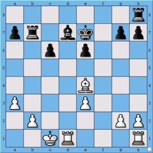 "White has, ""a better bishop and a better pawn structure.""-Magnus Carlsen"