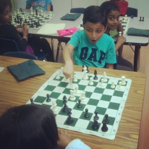 Chess students in Fremont get exciting lessons from Chris Torres.