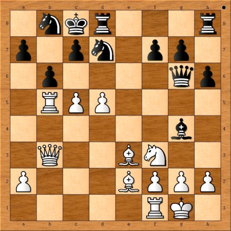 Position after 17. c5