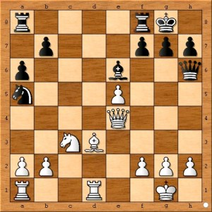 ( 18...g6 19.f4 Qe7) Is another way for black to avoid being checkmated.