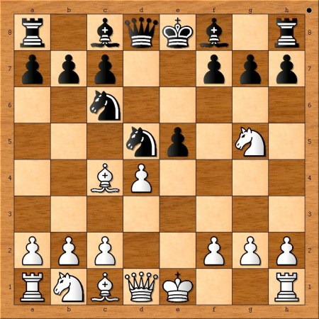 Position after 6. d4.