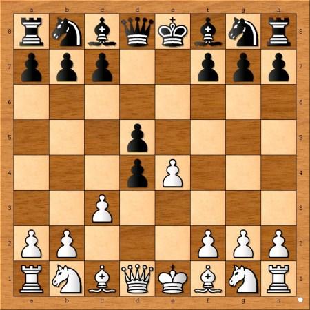 Position after 3... d5