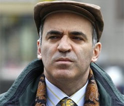 """Garry Kasparov is """"excited to watch this rematch of generations."""""""