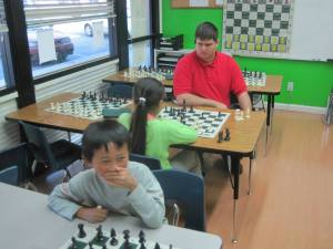James Paquette is one of the most popular chess coaches at the Torres Chess and Music Academy.