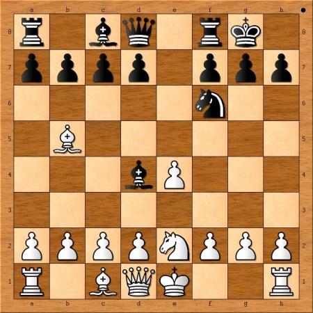 Position after 8. Ne2