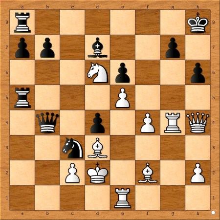 What did Bobby Fischer(white) play here?
