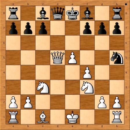 Position after 11. Qxd5.