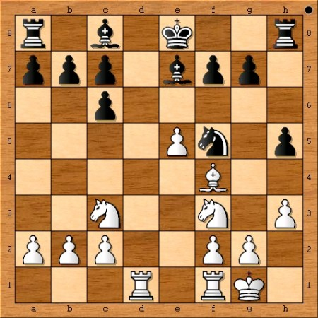 Position after Magnus Carlsen plays 12. Rad1.