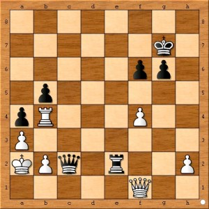 Position after Carlsen plays 43. b5.