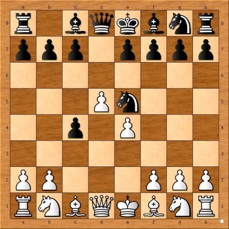 Position after 4... Ne5.