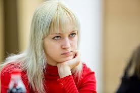 Anna Ushenina is the Women's World Chess Champion.