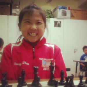 Chenyi's chess future is as bright as her beautiful smile.