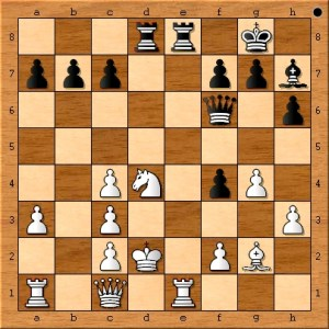 White's move of Nd4 is forced.