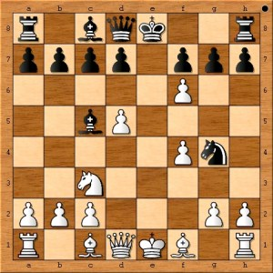 Position after 9. exf6