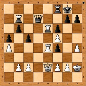 Position after Carlsen plays 28. Qe2.