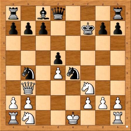 Position after 10... d5
