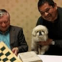 Francisco Anchondo once brought his beloved service dog to meet World Chess Champion Anatoly Karpov.