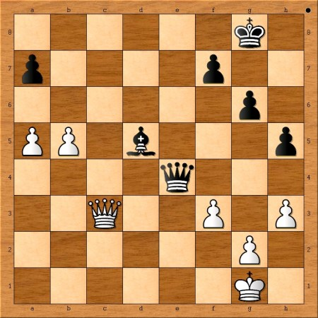 Position after 40. f3.