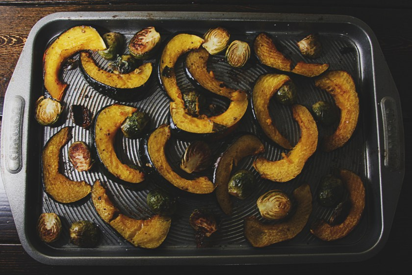 roasted-squash-brussel-sprouts