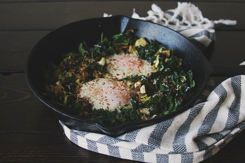 brussels-sprouts-kale-skillet