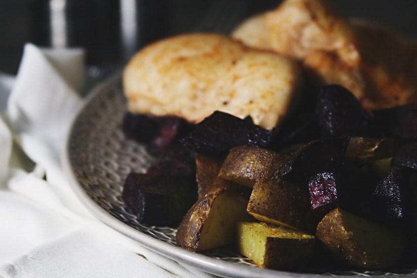 chicken-beets-potatoes-tahini-yogurt-sauce-8