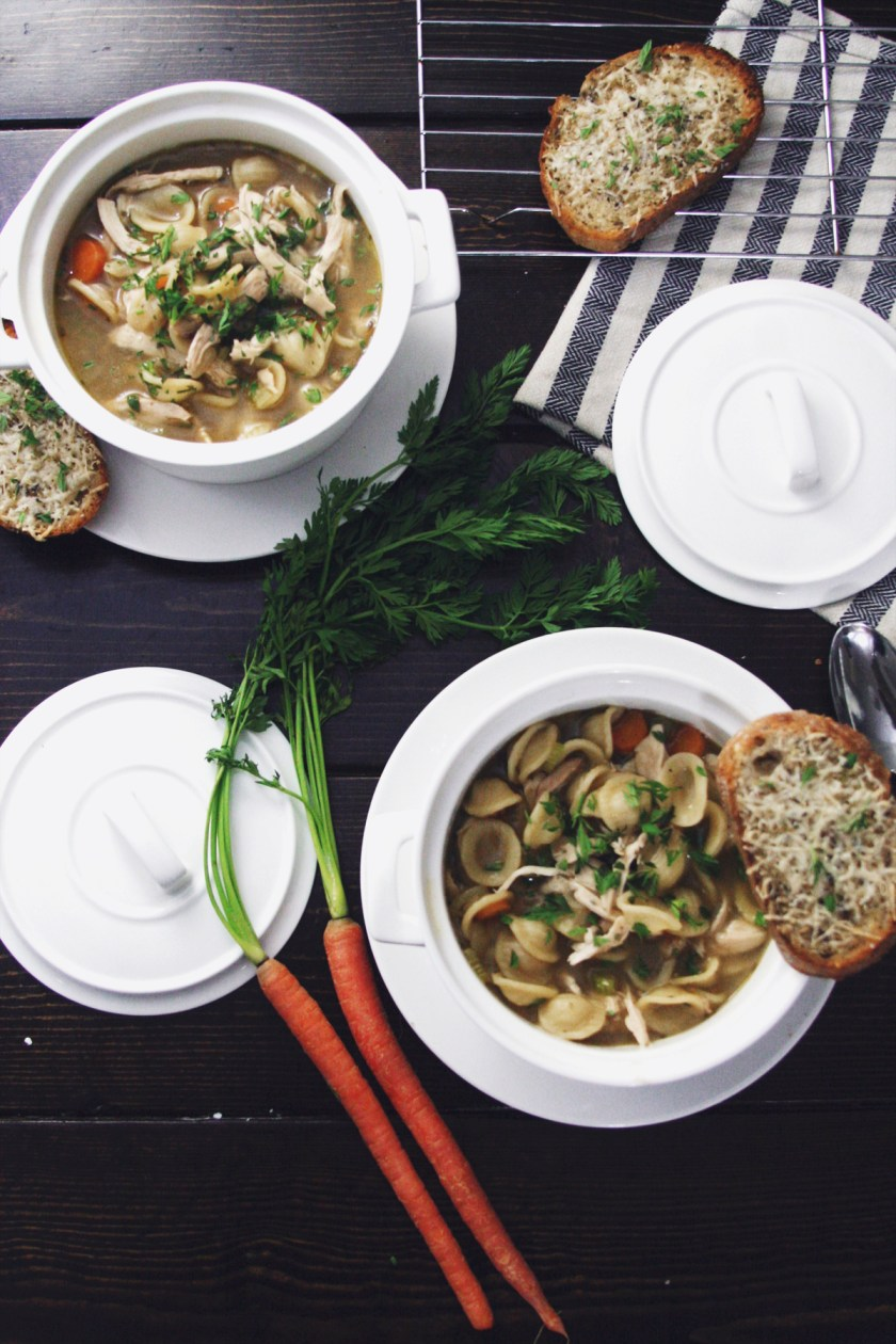chicken-noodle-soup-parmesan-toast