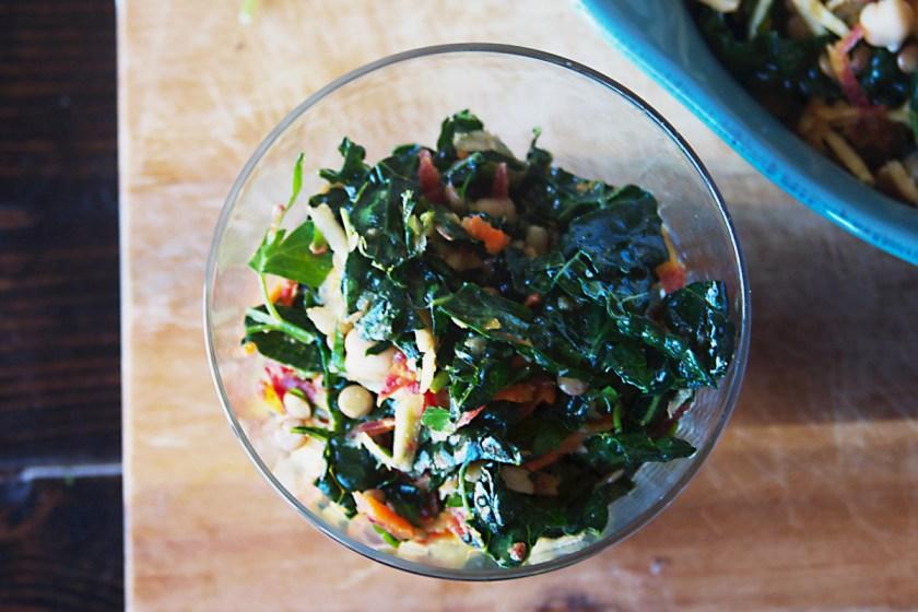 lentil-kale-rainbow-carrot-salad-3