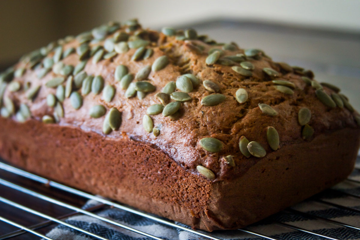Whole Wheat Banana Zucchini Bread