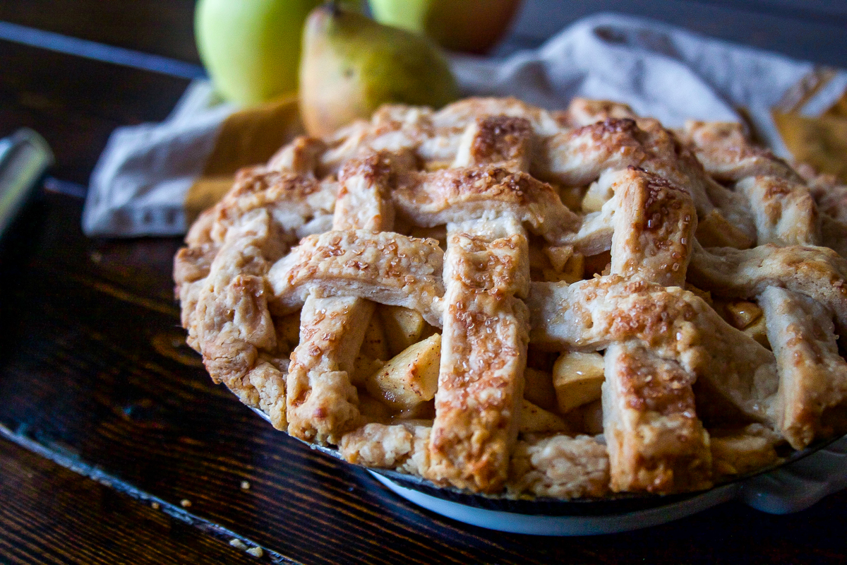 Pear Apple Pie