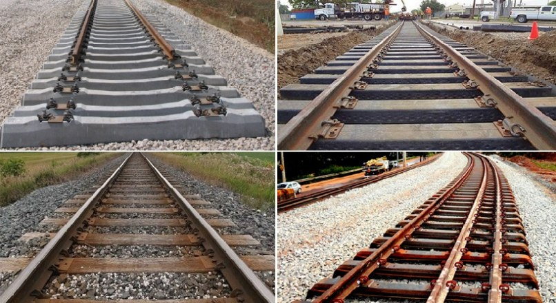 Types Of Sleepers Used In Railway – Railway Sleeper