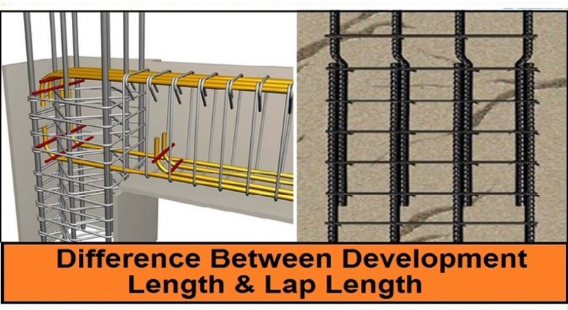 Difference Between Development Length And Lap Length