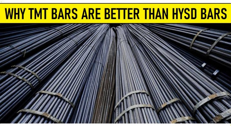 Why TMT Bars Are Better Than HYSD Bars