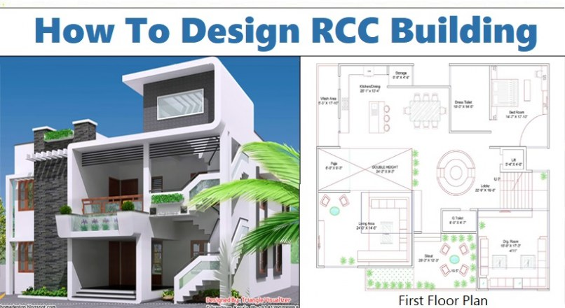 How To Design RCC Building Manually