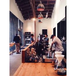 the coffee bar at stumptown L.A.