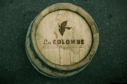 La Colombe Oak Casket by Thierry Stein