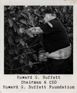 Underwriter Howard G. Buffet